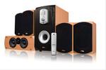 новая акустика 5.1 с активным сабвуфером