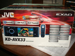 Автомагнитола JVC EXAD KD-AVX33 DVD/CD