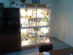 Стеллаж - витрина с подсветкой. стекло, алюминий
