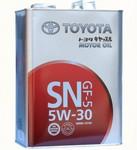 Оригинальное моторное масло Toyota Castle SN 5W30