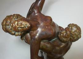 Бронзовая статужтка Похищение Сабинянок.70 см. Выбрать подарок 5