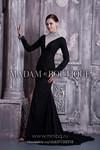 Новое элегантное черное выпускное/вечернее платье