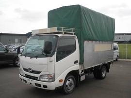 Hino Dutoro тентованный фургон грузовик 3