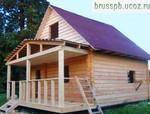 Дом из бруса 100х150 размером 6х6+2м (веранда)- ВСЕГО 300 тыс. р