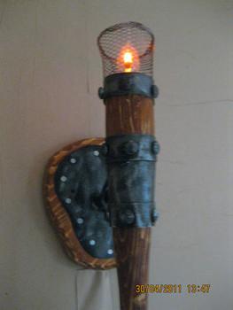 Факел своими руками на фото