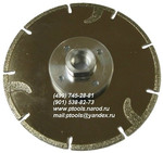 Круги алмазные отрезные по граниту и мрамору ф125-230 мм