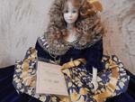Кукла фарфоровая 48 см Италия ноль девяносто семь