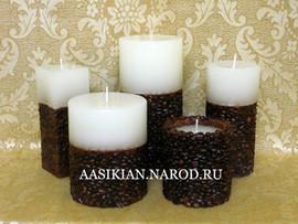 Свечи декоративные от производителя оптом в Краснодаре. 6