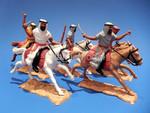 солдатики 1/32 Timpo Арабы конные 5 фигур 5 поз №64 шестьдесят ч