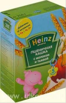 Каши Хайнц для детей с 5 месяцев 3