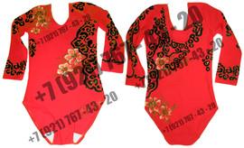 Роспись купальник костюм спортивной гимнастики фигурного катания 2