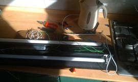 Ремонт аквариумных светильников. 7