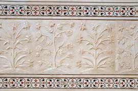 Индийские подставки под чашки из н.мрамора с инкрустацией 6