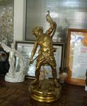 """Бронзовая скульптура """"Бог Виноделия""""."""
