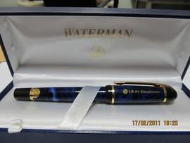Продам Ручку с золотым пером Waterman