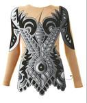 Купальник для художественной гимнастики индивидуальный пошив
