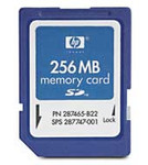 HP 256 MB Secure Digital Card