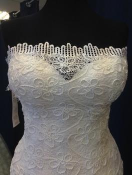 Новое свадебное платье+длинная фата 2