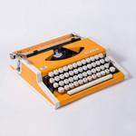 Печатная портативная переносная пишущая машинка Unis De lux