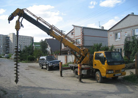 Услуги (аренда) ямобура вездехода Урал, ГАЗ 3308 3