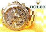 Золотые Rolex серебряные часы механические новые