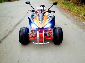 Спортивный квадроцикл на литых дисках 2