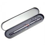 Ручка с выдвижной указкой с лазером, фонариком и магнитом