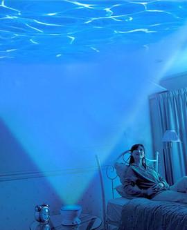 """Проектор """"на дне морском"""" или ночник морские волны (только опт) 2"""