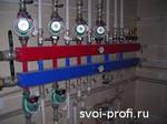 Монтаж системы отопления в коттедже. Замена труб. Ярославль и об
