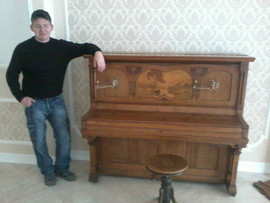 Перевозка пианино, фортепиано и рояль профессионально
