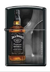 Зажигалка Zippo 1427 Jack Daniels Tennessee Whiskey Black Matte