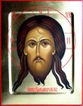 """Продается рукописная икона """"Спас Нерукотворный""""."""