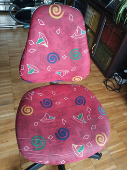 Стул кресло школьницы удобное чистое прочное эргономичное 3