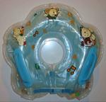 Круг для плавания на шею и бассейны для новорожденных.
