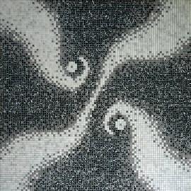 Мозаичные ковры из натурального камня 8