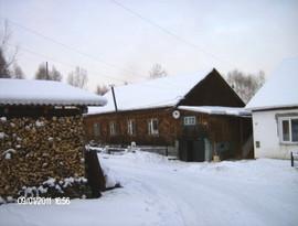 Пол дома на Алтае + кап. гараж 3