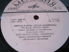 Органная музыка. Орган Хаммонд. Исполняет Мигель Рамос (Испания) 3