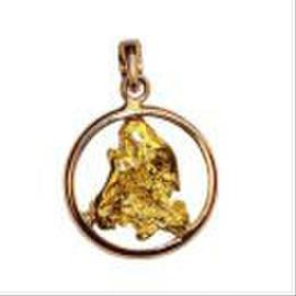 Ювелирные украшения с золотыми самородками высшей 850-950 пробы. 2
