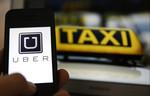 Водитель на личном авто в такси uber
