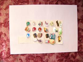 Продам коллекцию авто-значки-марки-календарики-брелки-модели. 9