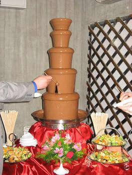 Шоколадный фонтан на Ваше торжество. 2