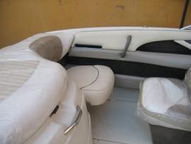 Реставрация и ремонт ходовых тентов, кресел, подушек на катера. 6