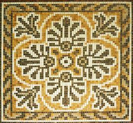 Мозаичные ковры из натурального камня 4