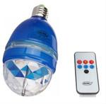Лампа RGB с вращением от звука с пультом ДУ