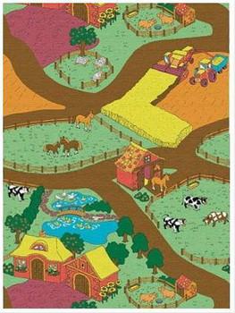 Игровой коврик Ферма (новый, Бельгия) 2