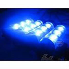 Атмосферная подсветка салона - синяя