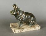Скульптура бегемот