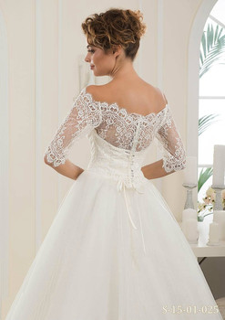 Новое свадебное платье+длинная фата 1