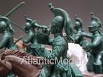 солдатики 1/32 EXFORCE Французские драгуны с трубачом