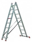 Altrex 2 piece aluminum ladder